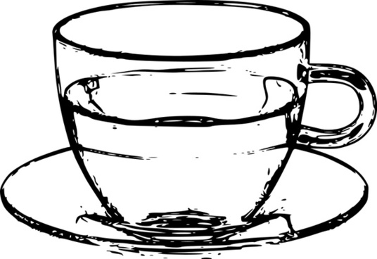 536x368 Teacup And Saucer Free Vector Download (40 Free Vector)