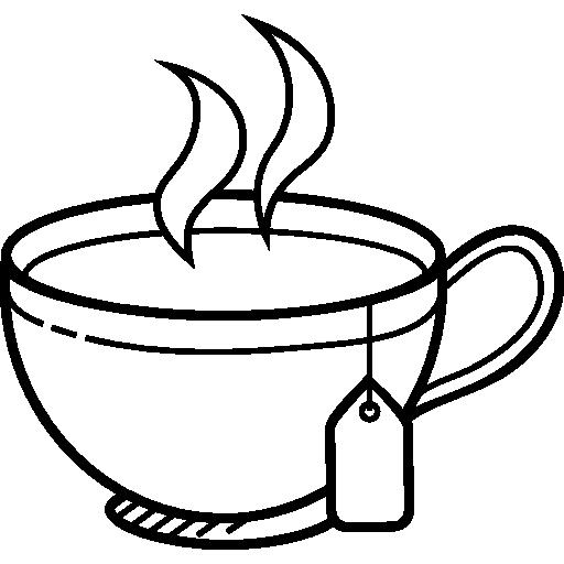512x512 Hot Drink, Tea Cup, Food And Restaurant, Coffee, Tea, Food, Mug Icon