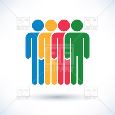 400x400 Icon Of Multicultural People