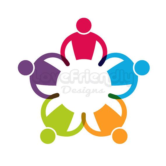 570x570 Custom Logo Design Premade Logo Children Group Round In Circle