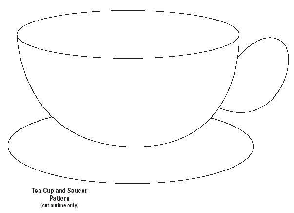 603x436 Teacup Shapes Tea Cup Shapes Applique Embroidery Shapes