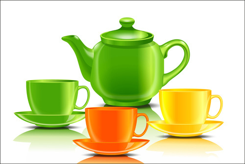 500x334 Teacup And Saucer Free Vector Download (40 Free Vector)