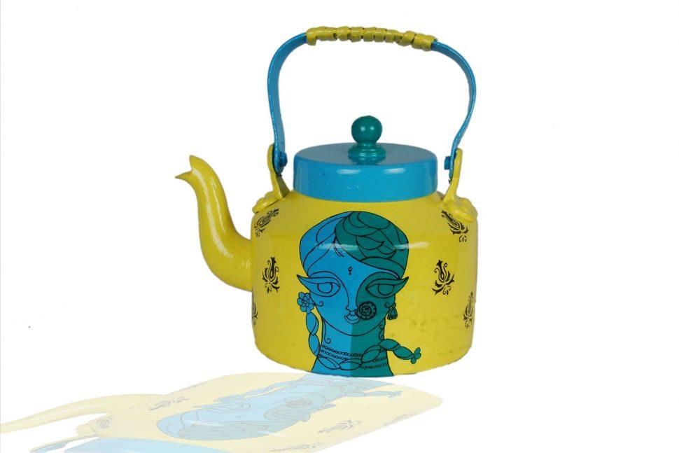970x647 Yellow Enamel Tea Kettle Yellow Whistling Tea Kettle Chantal