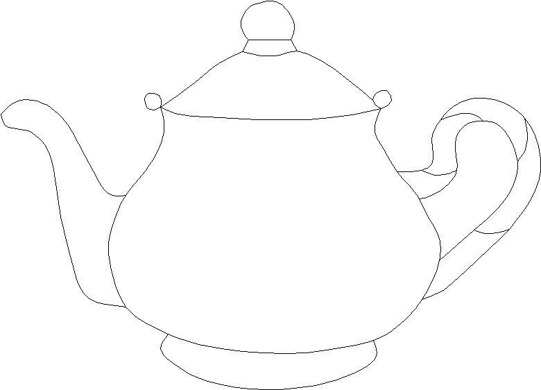 780x562 Teapot Quilt Patterns Large Template Teapot Suncatcher