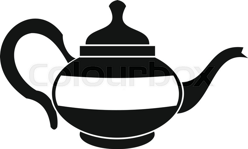 800x481 Teapot Icon. Simple Illustration Of Teapot Vector Icon For Web