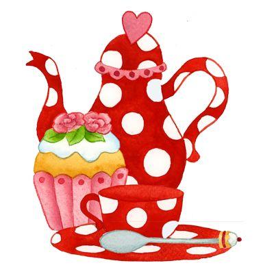 Teapots Clipart
