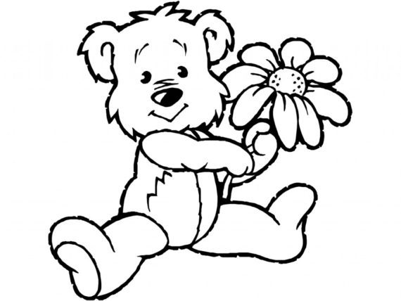 570x428 Teddy Bear Clipart