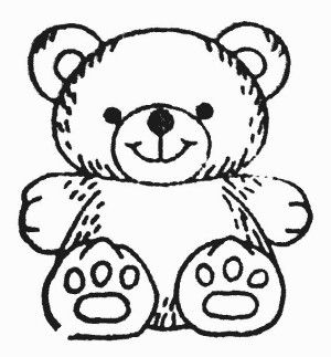 300x323 Teddy Bear Black And White 0 Ideas About Teddy Bear Tattoos
