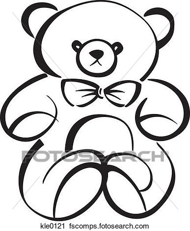 387x470 Clipart Of A Teddy Bear Kle0121