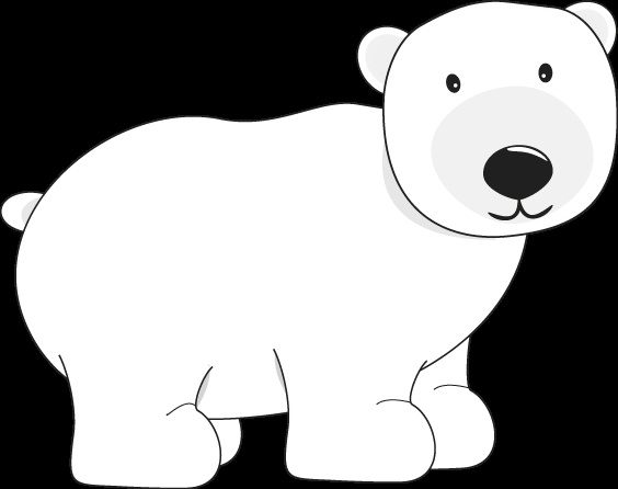 564x446 Bear Cliparts White 178632