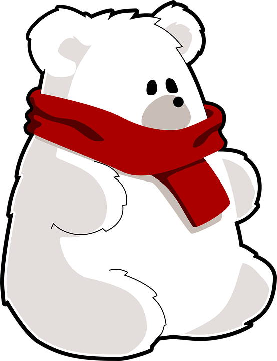 553x720 Polar Bear Clipart Teddy Bear