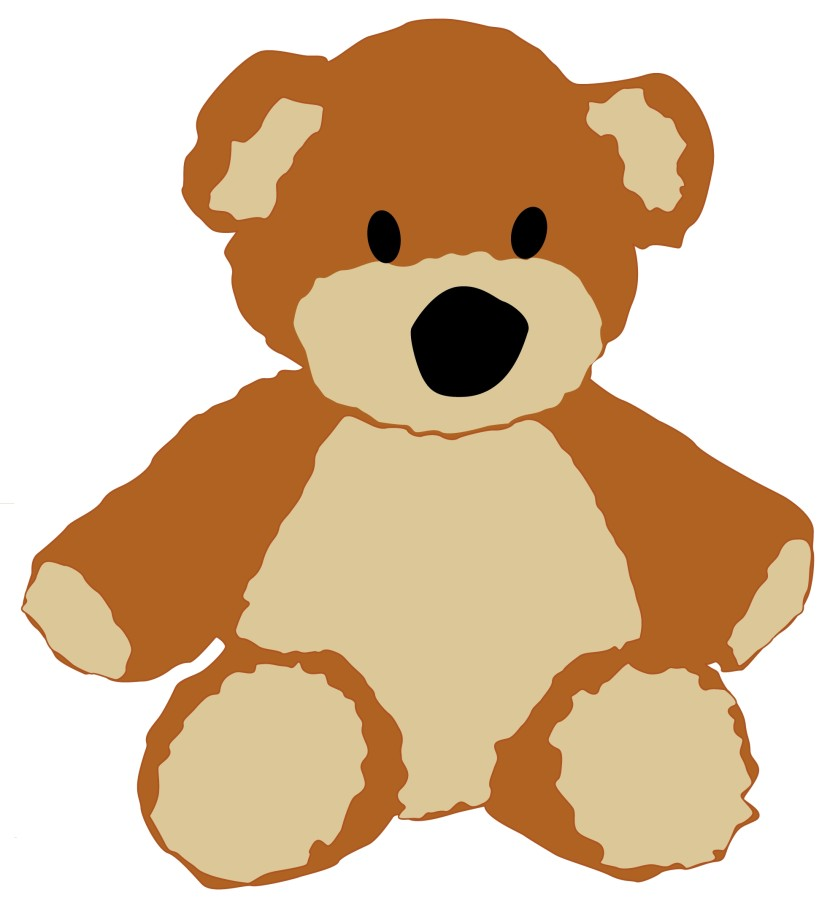 830x914 Teddy Bear Clip Art