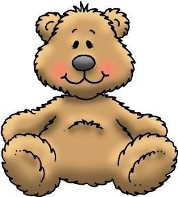 260x288 Teddy Bear Clipart Children'S