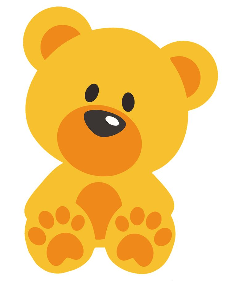 736x918 Teddy Clipart Yellow Baby