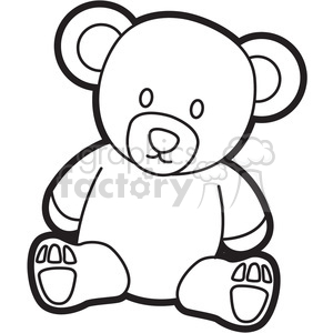 cartoon teddy bear coloring pages - photo#19