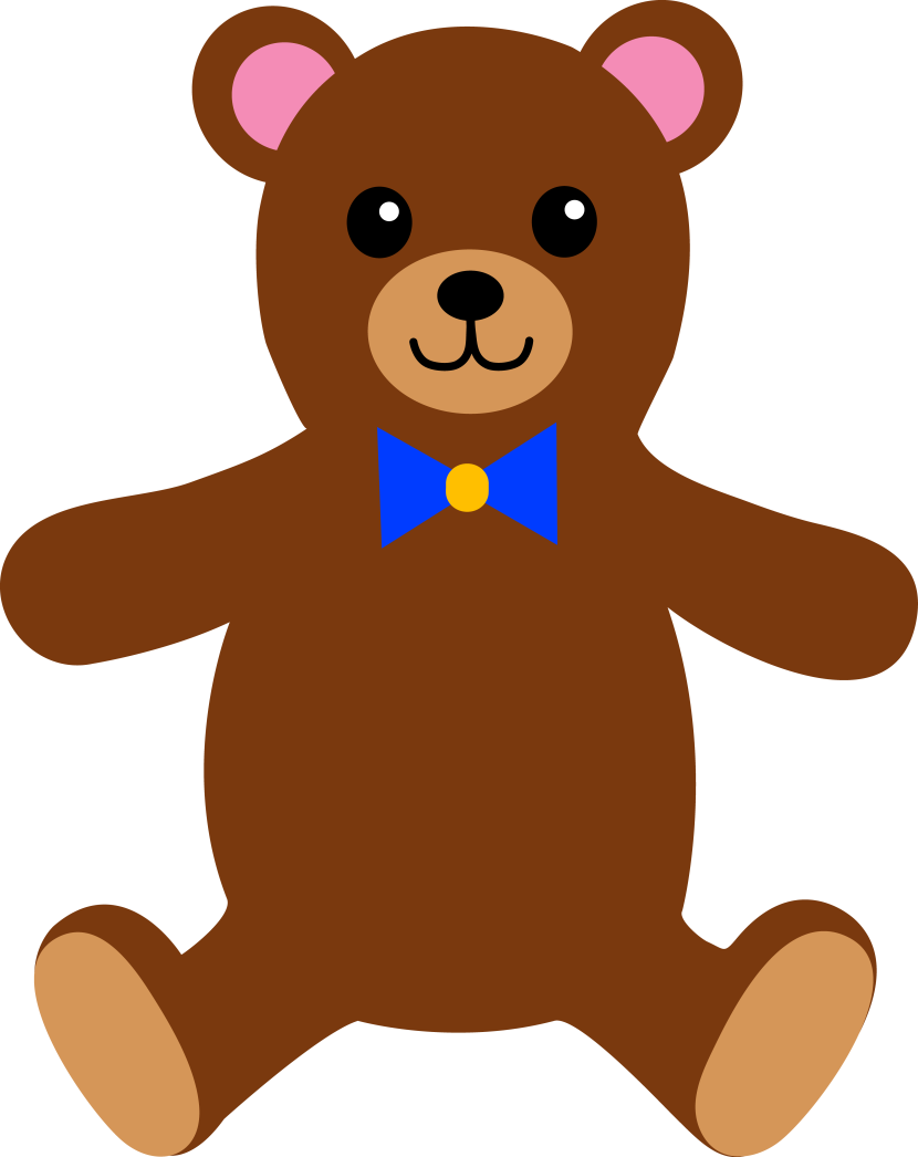 830x1046 Teddy Bear Clipart Free Images
