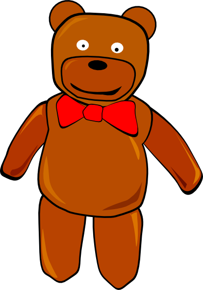 414x592 Clip Art Teddy Bear