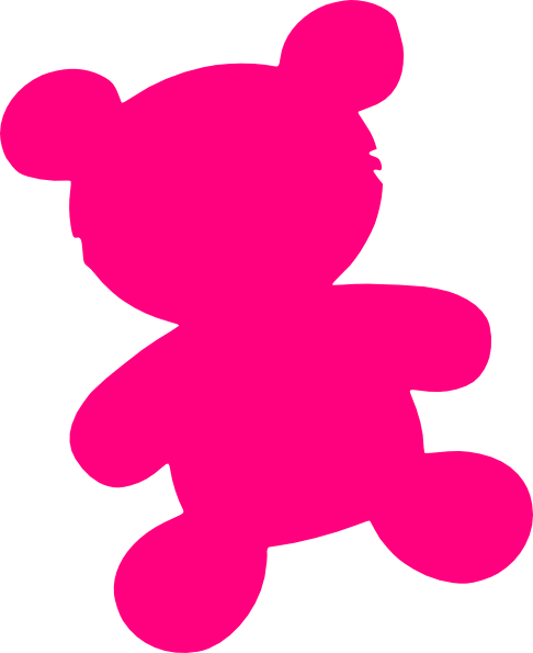 486x595 Pink Teddy Bear Clip Art Cliparts