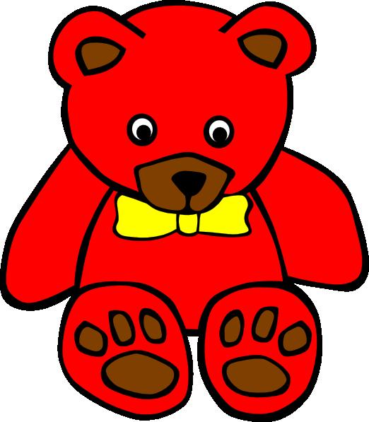 522x597 Teddy 5 Clip Art