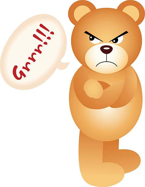 473x612 Teddy Bear Clipart Angry