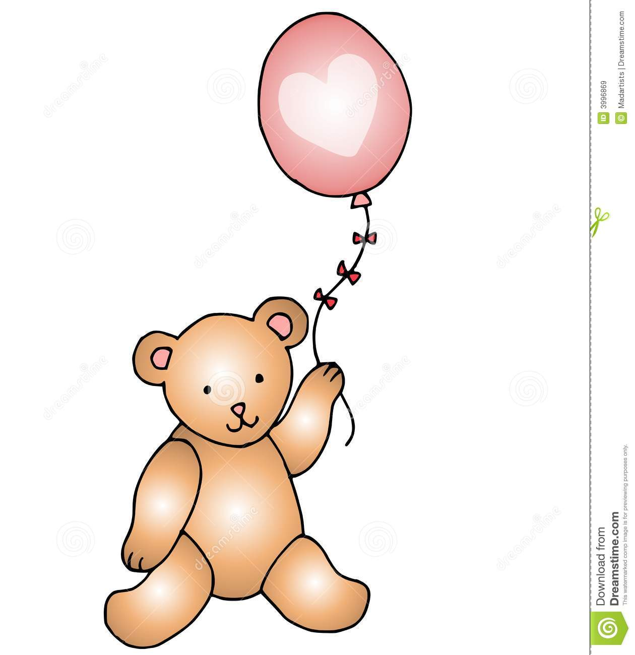 1260x1300 Teddy Bear Clipart Balloon Clipart