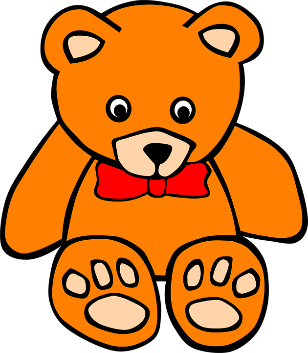 630x720 Teddy Bear Clipart Gambar