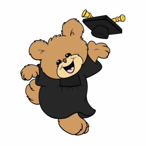 512x512 Bear Clipart Graduation