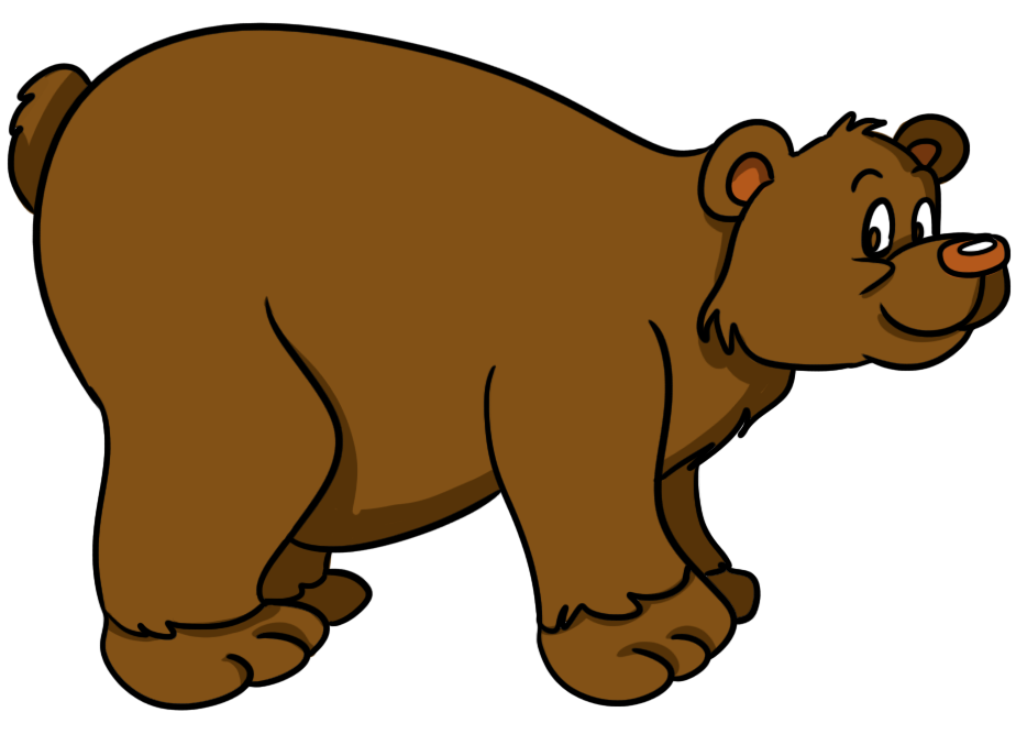 934x667 Brown Bear Clip Art