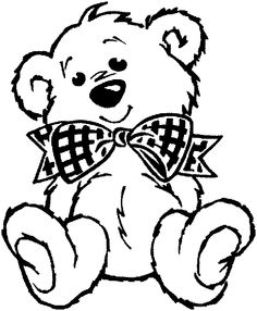 236x286 Outline Teddy Bear Coloring Page Cut Out Allentown Pa News