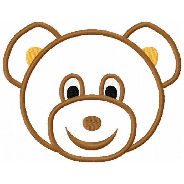 700x700 Brown Bear Clipart Cute Bear Head