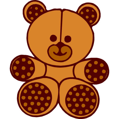 500x500 Pink Teddy Bear Clipart Free Clipart Images 2