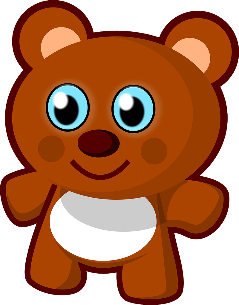 800x1020 Teddy Bear Free To Use Cliparts