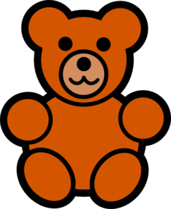 243x297 Teddy Bear Outline Clipart Free Clipart Images 2