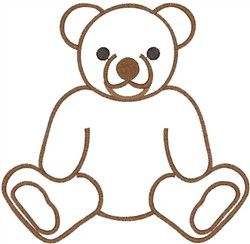 250x244 The 25+ best Teddy bear outline ideas Teddy bear