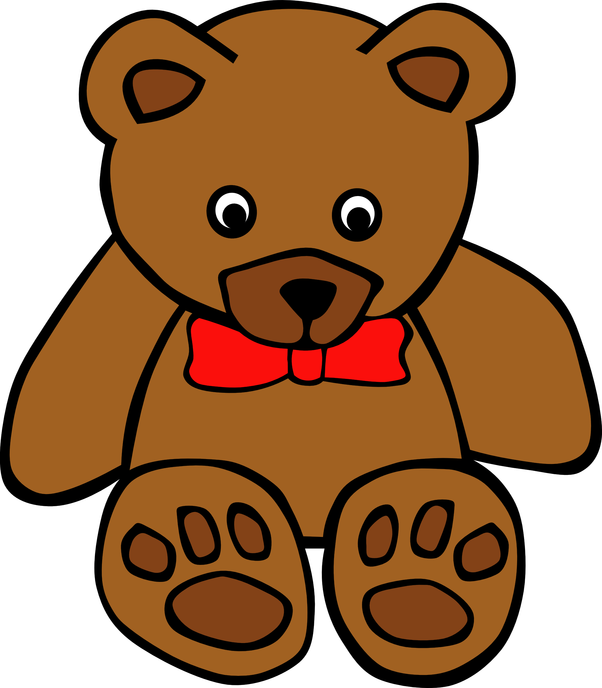 1979x2263 Teddy Bear Clip Art