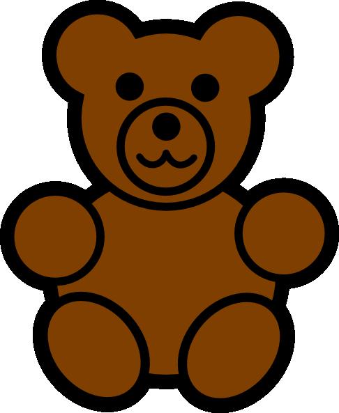 486x593 Teddy bear clip art ccoloringpages clipartix