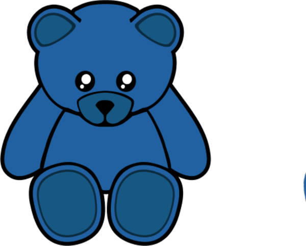 600x483 Teddy Clipart Toy