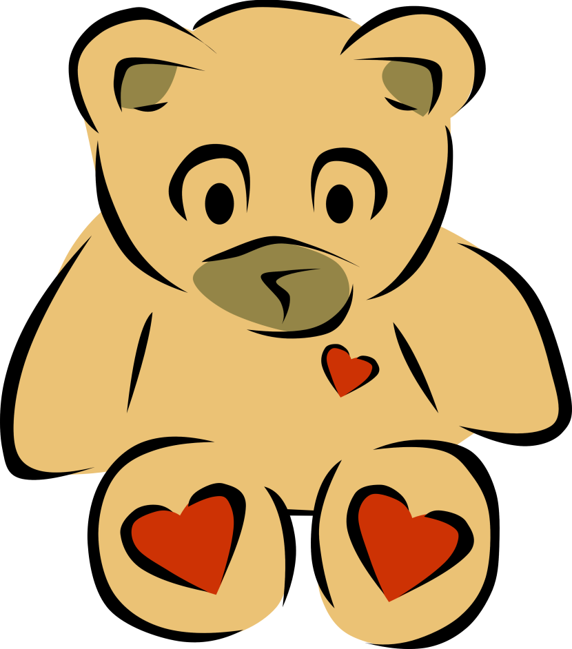 830x942 Best Teddy Bear Clipart