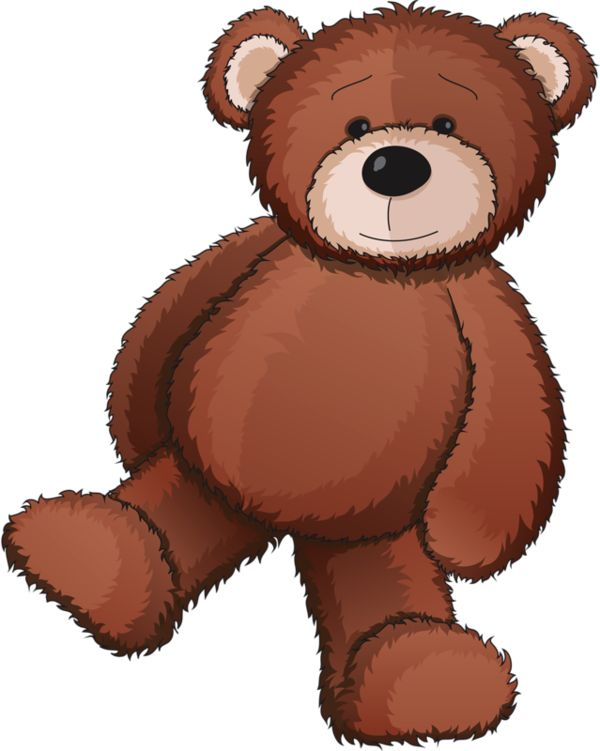 600x751 Brown Clipart Teddy Bear