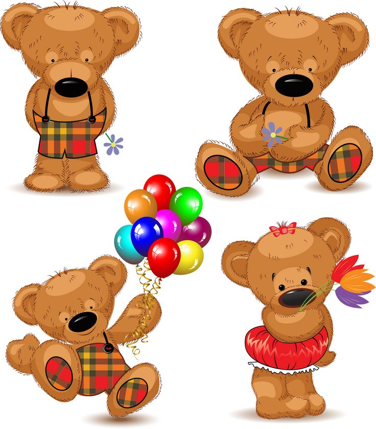 Teddy Bear Picnic Clipart