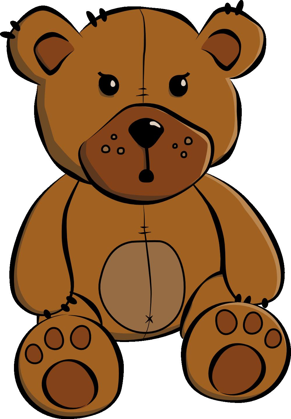 999x1437 Clipart Of Teddy Bears