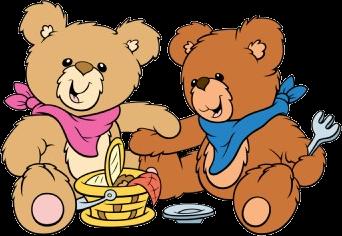 342x236 Picnic Clipart Teddy Bear Picnic