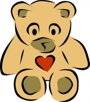 180x204 Teddy Bear Clip Art, Vector Teddy Bear