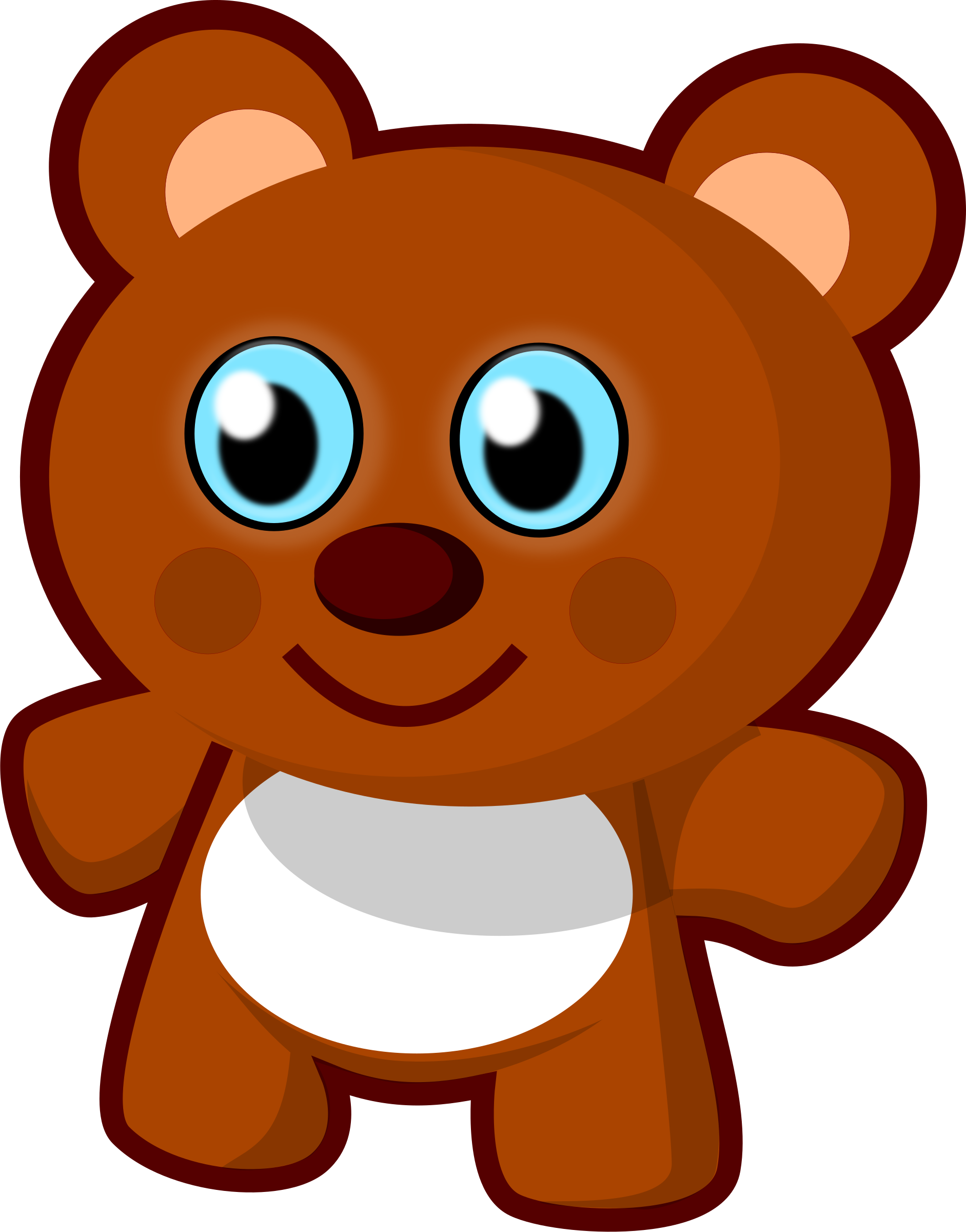 1883x2400 Teddy Bear Clipart Little Bear