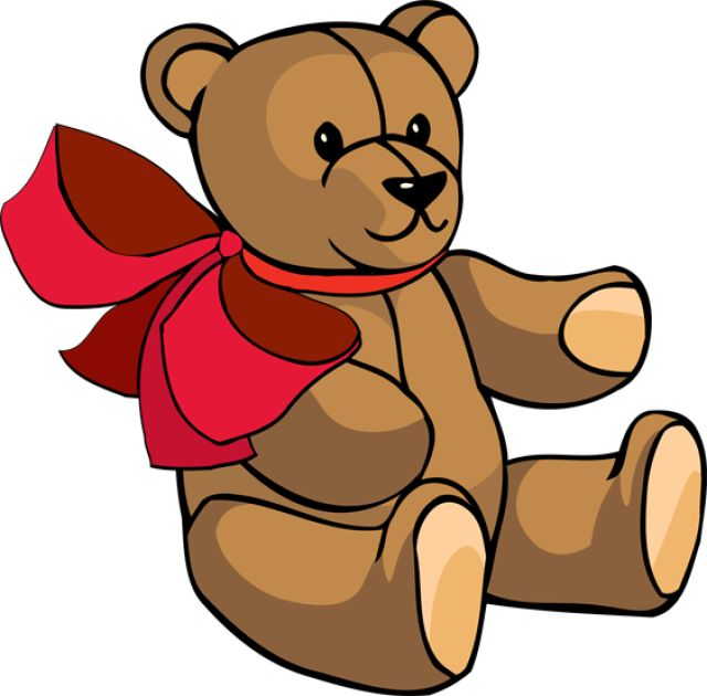 640x630 Teddy Bear Clipart Toy Game