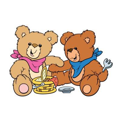 400x400 Teddy Bears Picnic