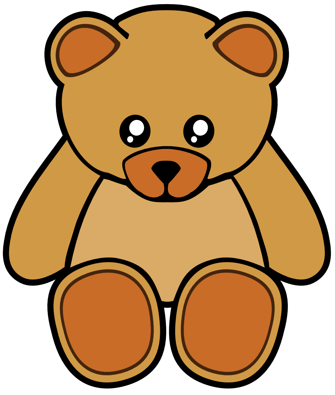 1125x1324 Cartoon Teddy Bear Clipart