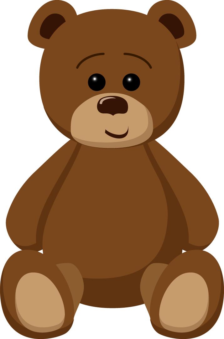715x1082 Brown Clipart Teddy Bear