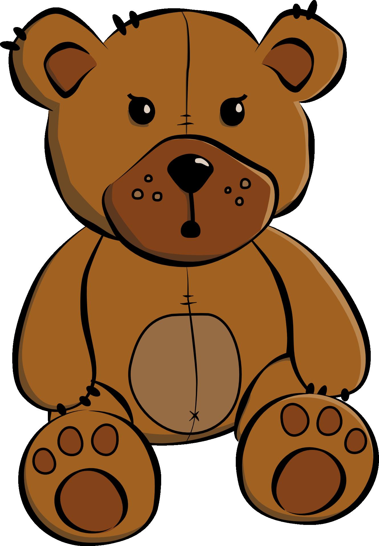 1331x1915 Clip Art Cartoon Teddy Bear Redonkulous Clipart