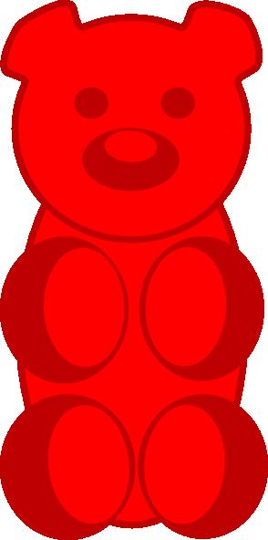 294x592 Gummy Bear Clipart